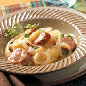 Crock Pot Potato Sausage Supper