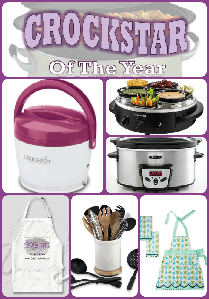 "Win ""crocktastic"" prizes in the Crockstar of the Year contest!"