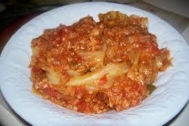 Crock Pot Cabbage Roll Casserole