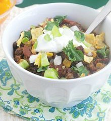 Paleo Turkey and Kale Chili