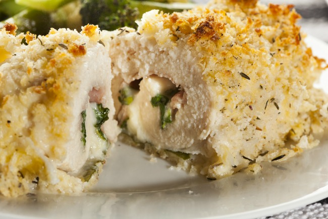 **Slow Cooker Chicken Cordon Bleu