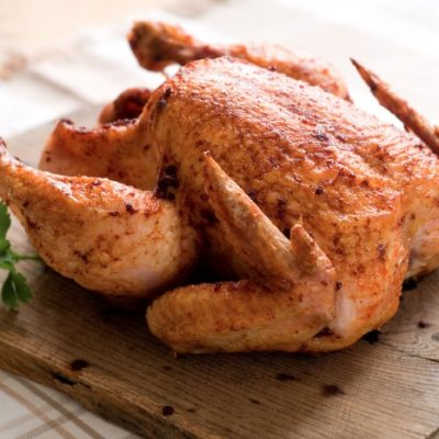 Slow Cooker Roasted Chicken **