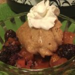 **Slow Cooker Blackberry and Peach Cobbler