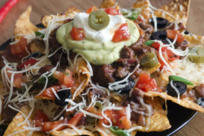 **Slow Cooker Nachos