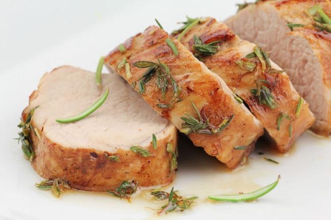 Slow Cooker Honey Seared Pork Tenderloin **