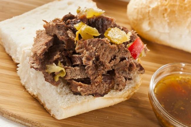 **Slow Cooker Italian Beef