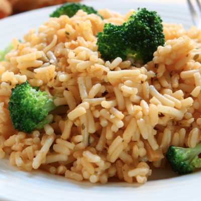 Slow Cooker Cheesy Broccoli and Rice* *