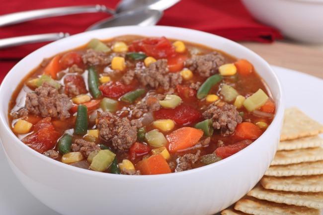 Slow Cooker Vegetable Beef Stew **
