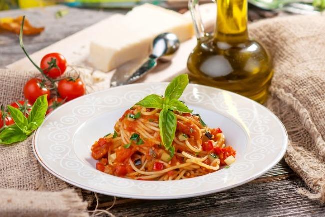 **Slow Cooker Vegetable Spaghetti Sauce