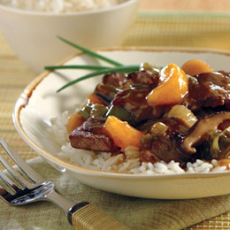 Crock Pot Beef with Mfandrian Orange