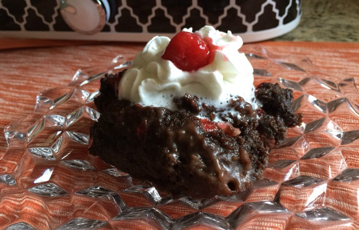 **Slow Cooker Black Forest Cake