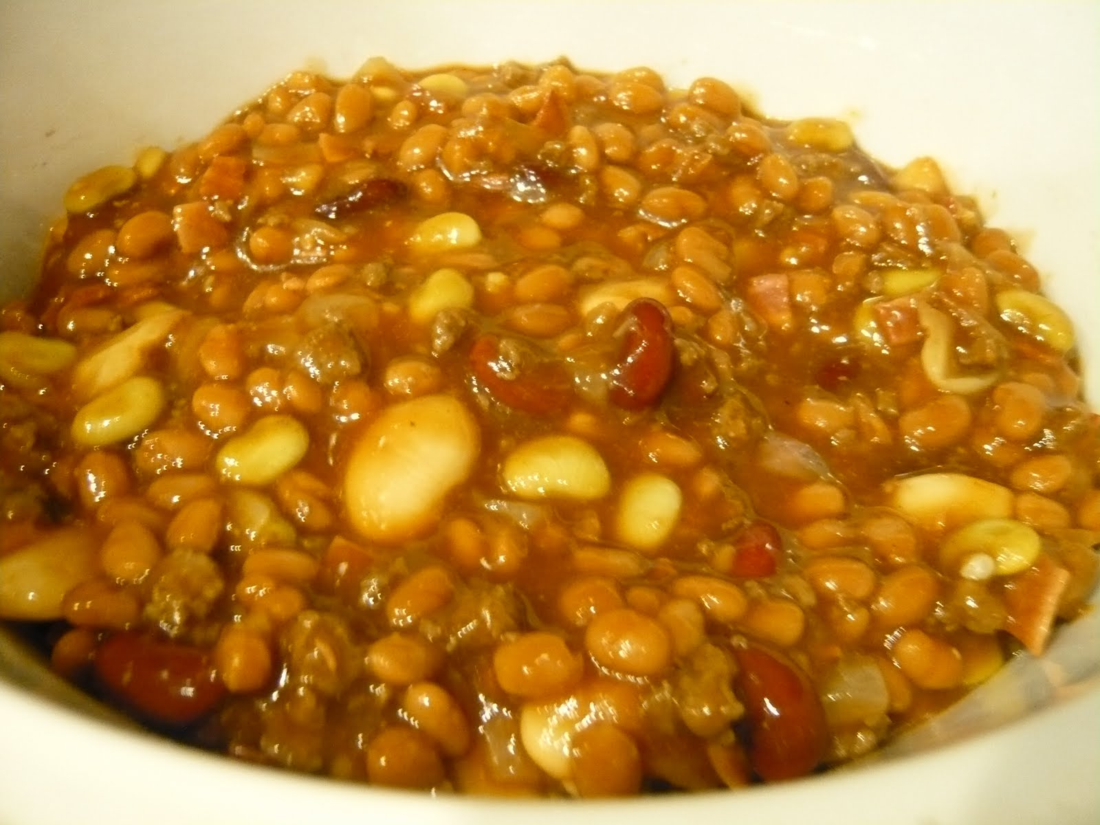 Crock Pot Calico Baked Beans