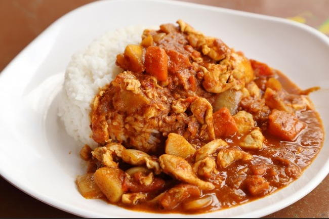 **Slow Cooker Curry Chicken