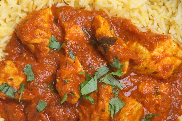 **Slow Cooker Madras Chicken Healthy