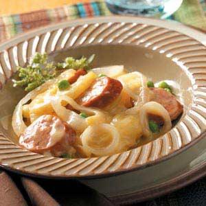 Crock Pot Potato Sausage Supper