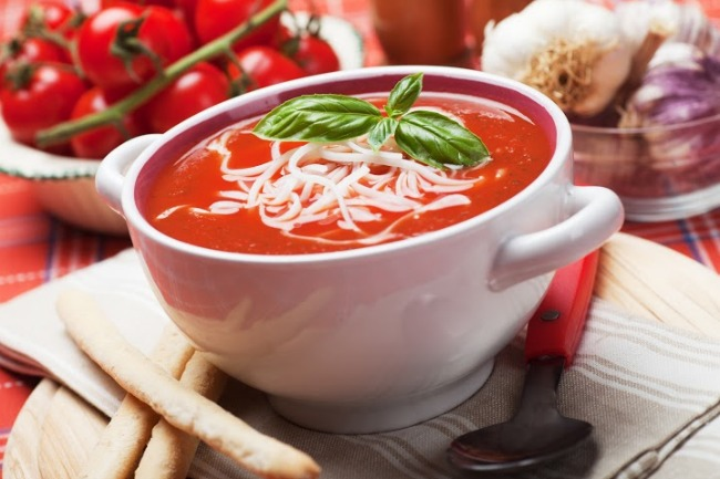 **Slow Cooker Tomato Soup