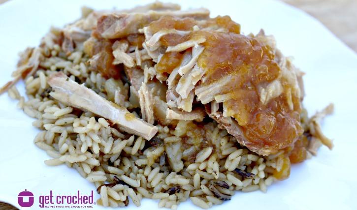 Slow Cooker Teriyaki Pork Roast**