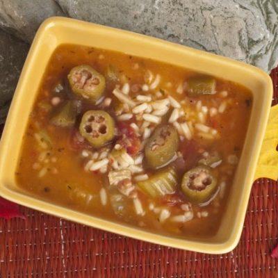 **Slow Cooker Cajun Seasoned Gumbo