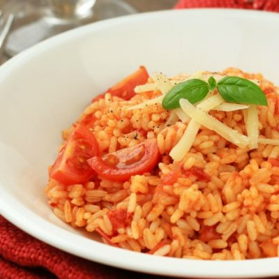 **Slow Cooker Italian Rice