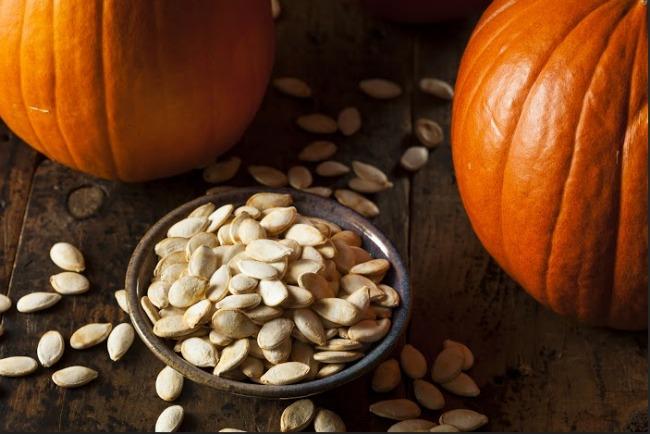 Slow Cooker Roasted Pumpkin Seeds **
