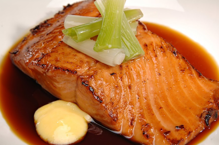 Slow Cooker Maple Salmon * *
