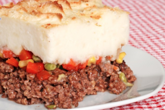 **Slow Cooker Shepherds Pie
