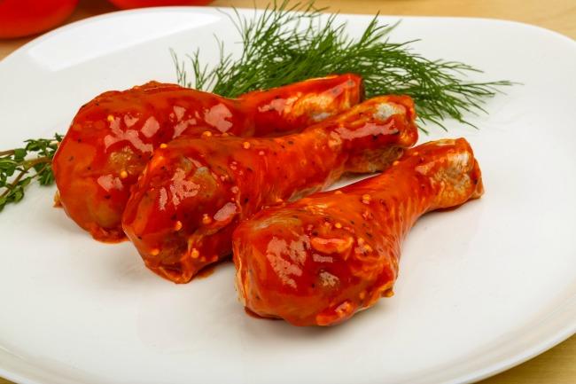 **Slow Cooker Spicy Chicken Drummies
