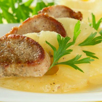 **Slow Cooker Tropical Pork Tenderloin