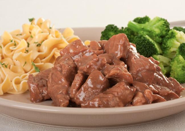 Slow Cooker Beef Tips with Mushroom Sauce **