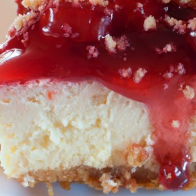 **Slow Cooker Cheese Cake