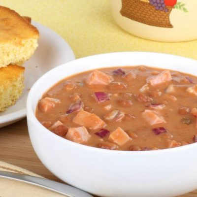 **Slow Cooker Ham and Beans