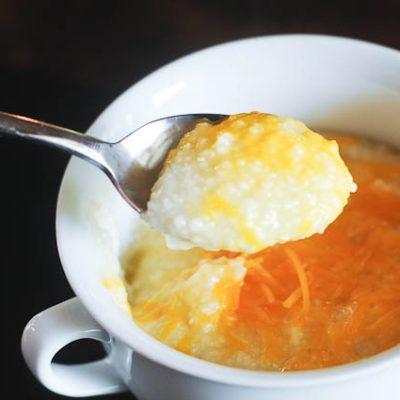 Crock Pot Grandma Clo's Cheesy Grits!