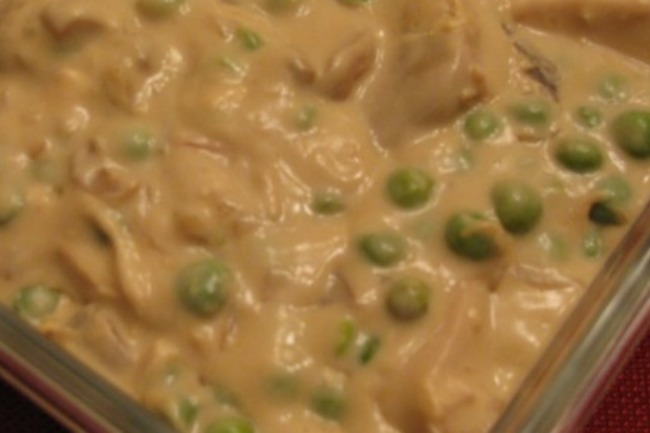 **Slow Cooker Chicken Stroganoff