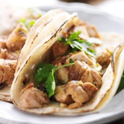 **Slow Cooker Chicken Tacos