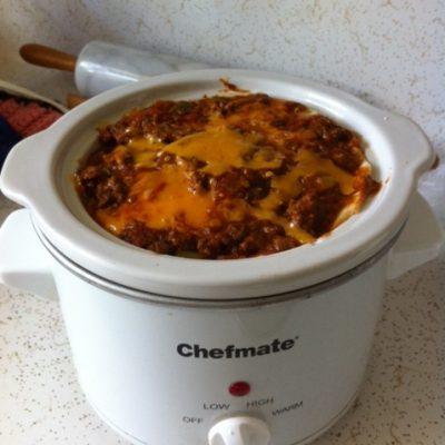 Crock Pot Layered Enchiladas