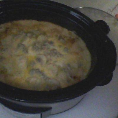 Crock Pot Potato Sausage Casserole
