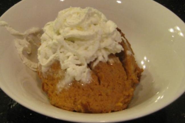 Slow Cooker Pumpkin Pie Pudding **