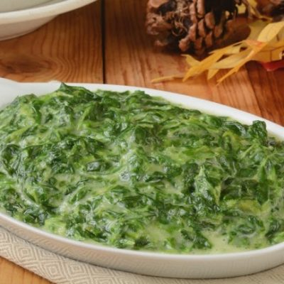 **Slow Cooker Creamed Spinach