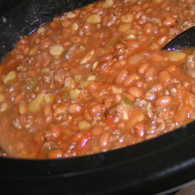 Crock Pot Easy Been and Bean