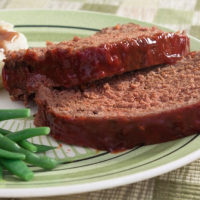 **Slow Cooker Barbecue Meatloaf