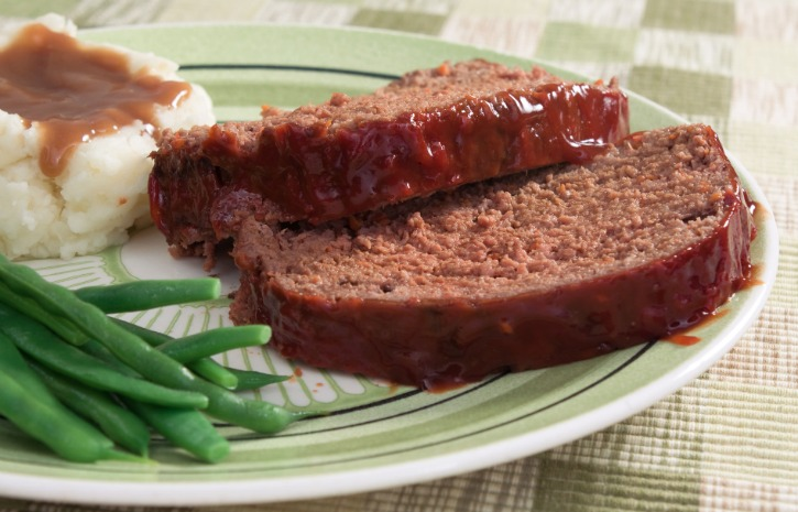 **Slow Cooker Barbecue Meatloaf