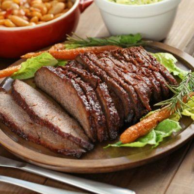 **Slow Cooker Texas Style Beef Brisket