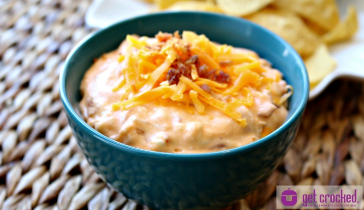 ** Slow Cooker Cheesy Bacon Dip