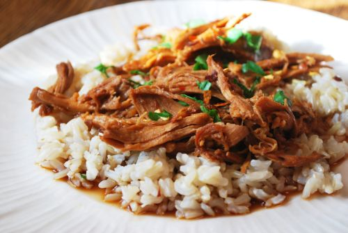 Crock Pot Bourbon Chicken