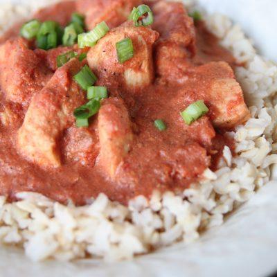 Crock Pot Chicken Tikka Marsala