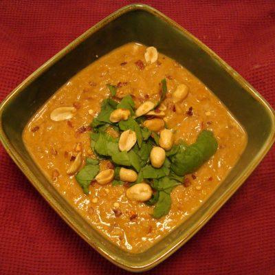 Crock Pot Peanut Butter Soup