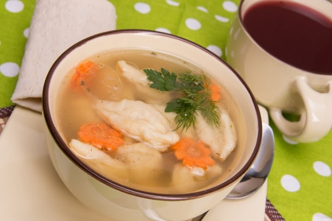**Slow Cooker Dumpling Soup