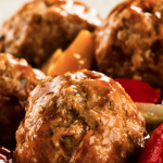 **Slow Cooker Easy Tangy Barbecue Meatballs