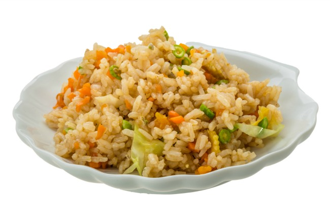 **Slow Cooker Fried Rice