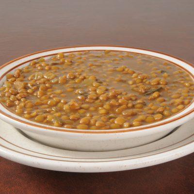 **Slow Cooker Green Lentil Soup
